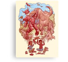 Role playing Metal Print