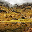 Cottage In Glencoe, Scotland by jacqi