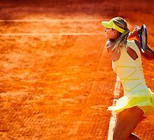 Maria Sharapova @ Roland Garros by johanlb