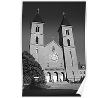 Victoria, Kansas - Cathedral of the Plains Poster