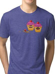 CUPCAKE CANNIBALS 2 Tri-blend T-Shirt
