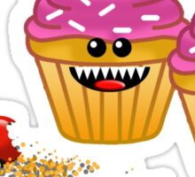 CUPCAKE CANNIBALS 2 Sticker