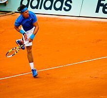 Rafael Nadal @ Roland Garros by johanlb