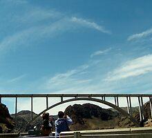 Mike O'Callaghan-Pat Tillman Memorial Bridge by Eileen Brymer