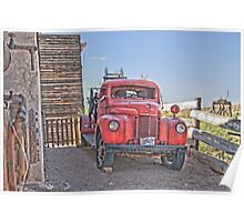 Goldfield Fire truck HDR Poster