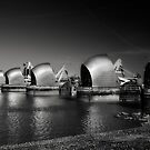 Thames Barrier by Mark Smart