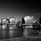 Thames Barrier by Mark Smart