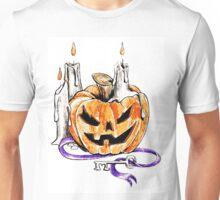 Spooky Pumpkin Unisex T-Shirt