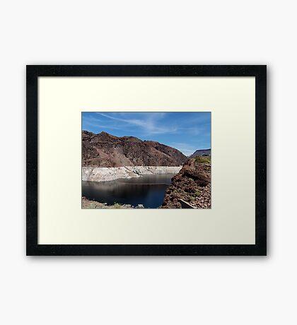 Hoover Dam Environment 2 Framed Print