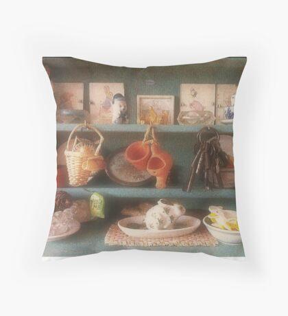 Life in Miniture Throw Pillow