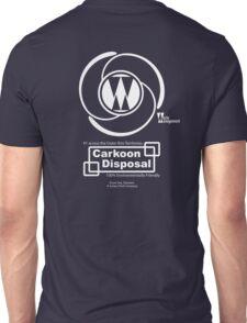 Carkoon Disposal (white) Unisex T-Shirt