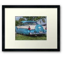 Classic 55 Ford Victoria Framed Print
