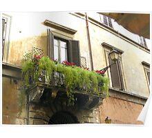 BALCONY (ITALY) Poster