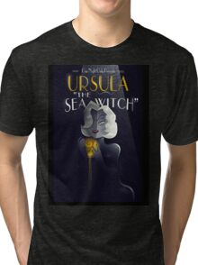URSULA THE SEA WITCH Tri-blend T-Shirt