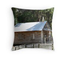Cracker Church Replica Throw Pillow