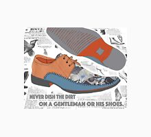 A Gentleman and his shoes. Unisex T-Shirt