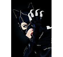 Catwoman Returns  Photographic Print