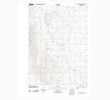 USGS Topo Map Oregon Blue Mountain Pass 20110824 TM One Piece - Long Sleeve
