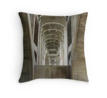 Ford Pkwy Bridge over Mississippi River, Saint Paul Throw Pillow