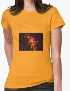 Fire Flowers from the High Desert Womens Fitted T-Shirt