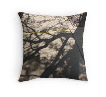 Noon Shadows Throw Pillow