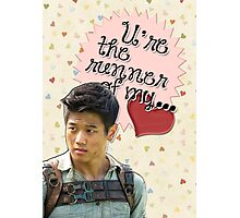The Maze Runner Greeting Cards [Minho] Photographic Print