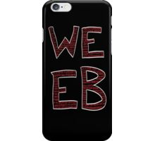 Red Binary Weeb Graphic iPhone Case/Skin