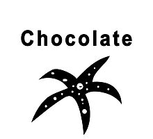 Chocolate Starfish by Shontay