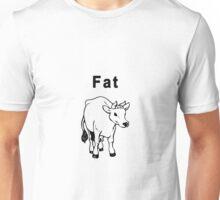 Fat Cow Unisex T-Shirt