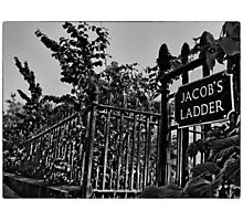 Jacob's Ladder (mono) Photographic Print
