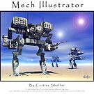 Mech Illustrator by Curtiss Shaffer