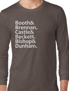 Booth, Brennan, Castle, Beckett, Bishop, Dunham Long Sleeve T-Shirt