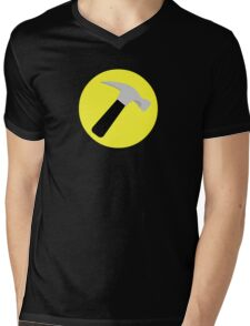 Captain Hammer Mens V-Neck T-Shirt