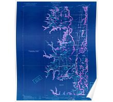 USGS Topo Map Oregon Monroe 282723 1922 62500 Inverted Poster