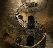 Old forgotten Staircase by JBlaminsky