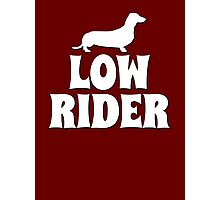 Low Rider Photographic Print