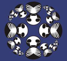 Skull and Ribs by Erik Johnson