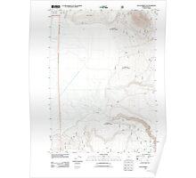 USGS Topo Map Oregon Sycan Marsh East 20110808 TM Poster
