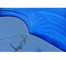 Blue sail Photographic Print