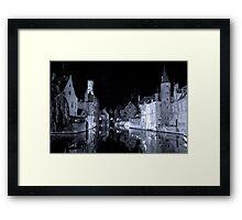 Brugges (A world heritage site) Framed Print