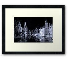 Brugges (A world heritage site) Framed Print