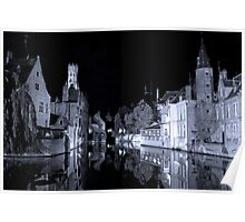 Brugges (A world heritage site) Poster