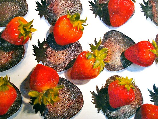 Strawberries by © Janis Zroback
