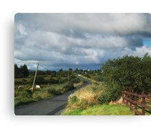 The Lettermacaward Road Canvas Print