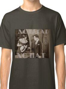 """No Bread No Hat"" Silent Film-era Buster Keaton Classic T-Shirt"