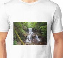 Split Summer Flow Over Tuscarora's Ledge Unisex T-Shirt