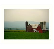 New York Farmstead Art Print