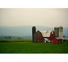 New York Farmstead Photographic Print