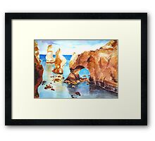 Coast of Portugal Framed Print