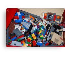 Eggo my Legos Canvas Print